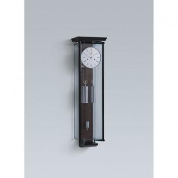 Kieninger Wanduhr 2548–96-01 Schwarz Chrom Glas