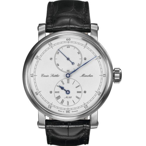 Erwin Sattler Armbanduhr Regulateur Classica Secunda Edelstahl