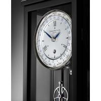 Erwin Sattler Classica W 60 M, Weltzeituhr, 14-Tage Uhrwerk, Schwarz