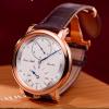 Erwin Sattler Armbanduhr Regulator 1920 Roségold