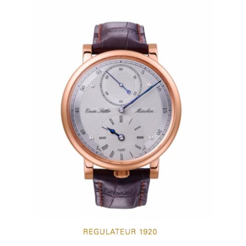 Erwin Sattler Armbanduhr Regulator 1920