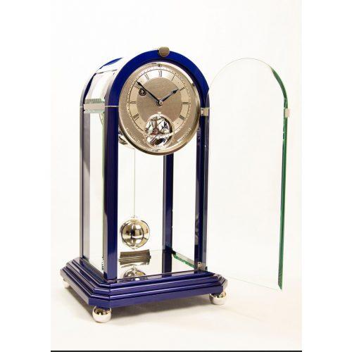 Sinclair Harding Tischuhr Table Regulator blue