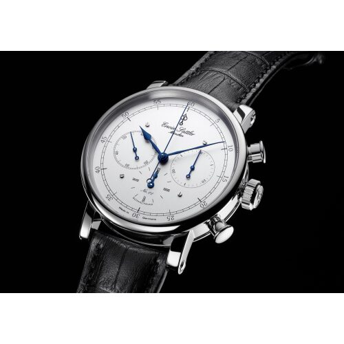 Erwin Sattler Chronograph II S Edelstahl Armbanduhr