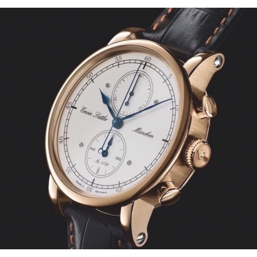 Armbanduhr Erwin Sattler Chronograph Bronze